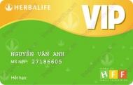 Mẫu thẻ vip Herbalife