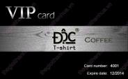 Mẫu thẻ vip quán cafe