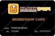 Mẫu thẻ khách hàng thân thiết 09